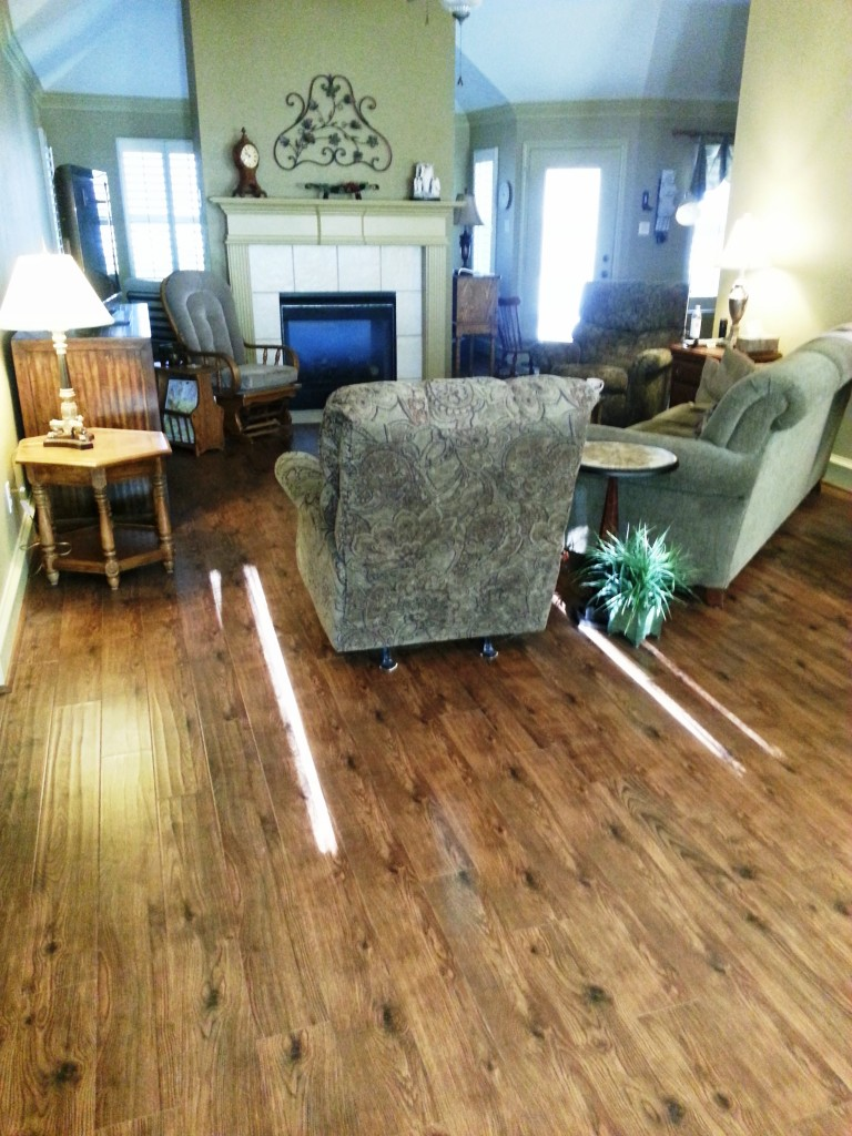 laminate and hardwood flooring