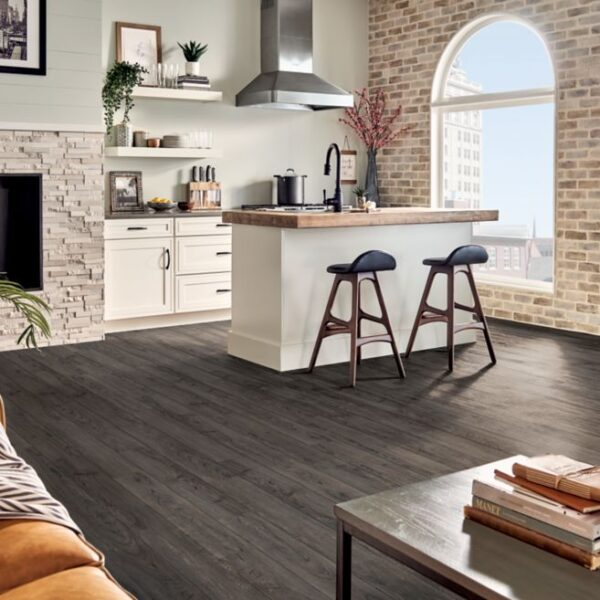 Armstrong Rigid Core Essentials Collection Color - Cascade Walnut
