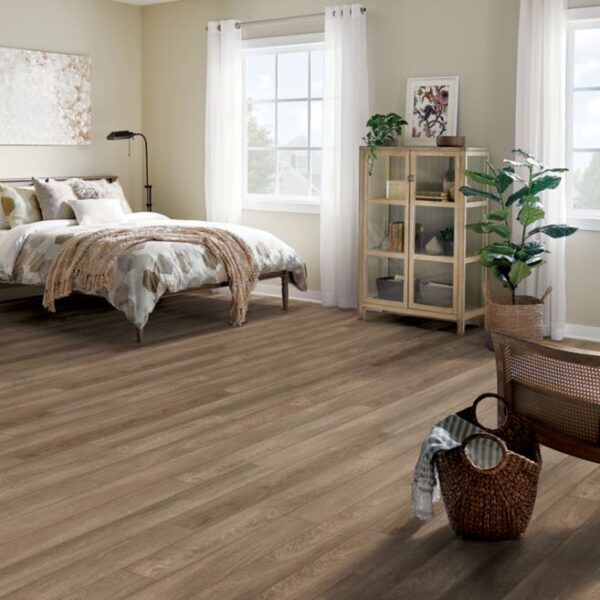 Armstrong Rigid Core Essentials Collection Color - Trailhead Oak Decor