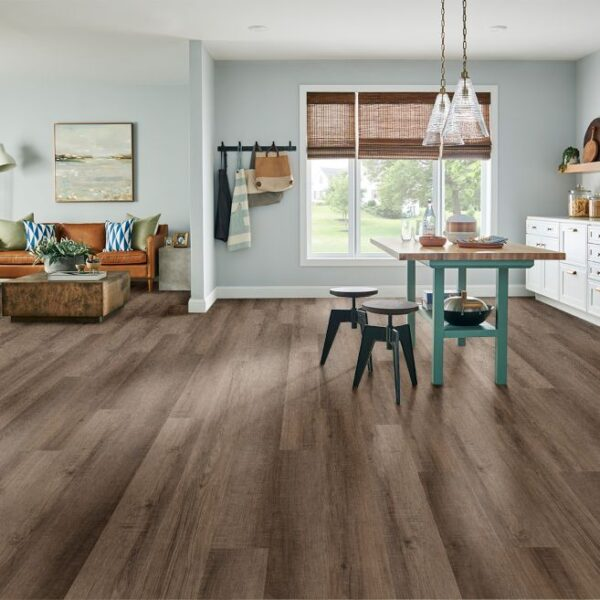 Armstrong Rigid Core Essentials Collection Color - Wolf Point Hickory Decor